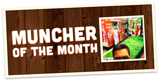 Discover our first Muncher Of The Month!